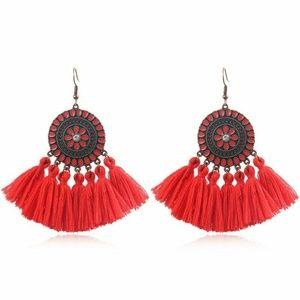 COMING SOON! Tassel Fringe Boho Earrings